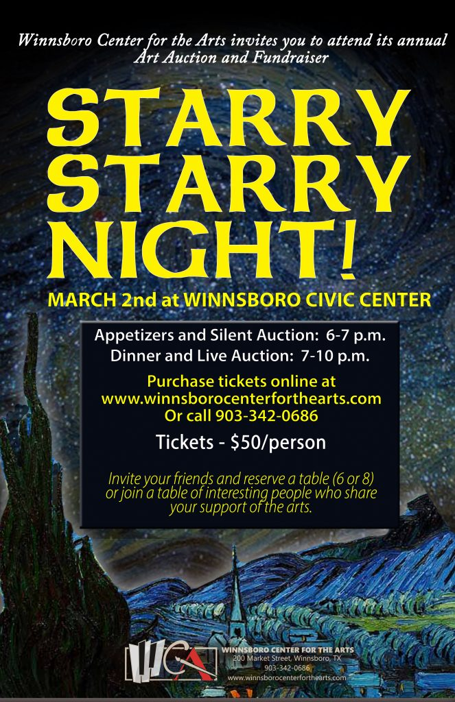 Starry Starry Night 2019 Fundraiser