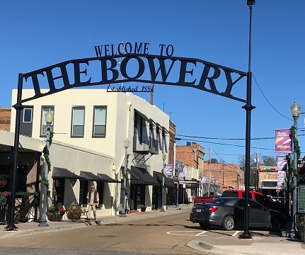 bowery sign