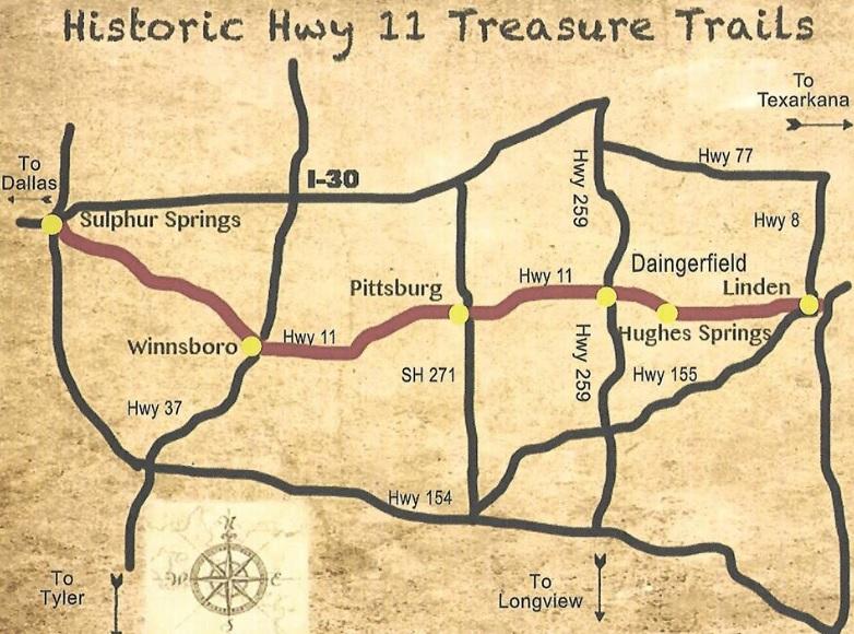 80 Miles of Treasures | Winnsboro Online Guide